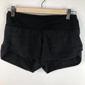 Lululemon Run Speed Shorts Black Size 2